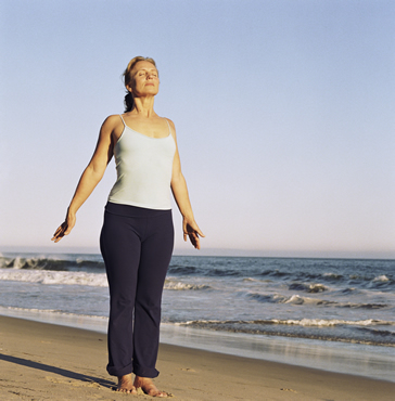 Deep Diaphragmatic Breathing for the Lymph System