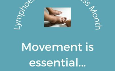 Lymphedema Awareness Month Tips: Movement is essential